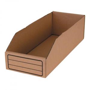 BIN BOX, BROWN 6.6 LITER