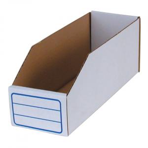 BIN BOX, WHITE 3.3 LITER