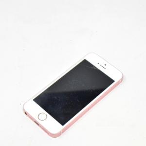 Iphone SE Rosa (difetto Vetro + No Carica Batterie Originale)