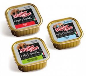 Patè Migliorcane Professional vari gusti e formati