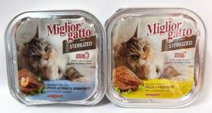 Patè Miglior gatto Sterilized gr.100 vari gusti