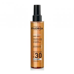 Filorga Uv Bronze Body Tan Activating Sun Oil Spf30+ 150ml