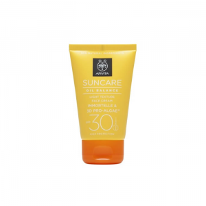 Apivita Face Cream Oil Balance Spf30 50ml