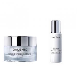 Galenic Secret D'Excellence The Cream 50ml + Secret D'Excellence Serum 10ml