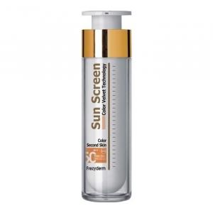 Frezyderm Sun Screen Color Velvet Face Water Resistant Spf50+ 50ml