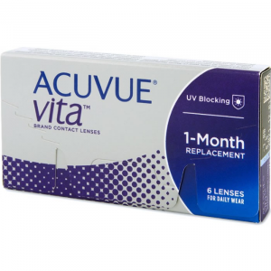 Acuvue Vita Contact Lenses 1 Mounth Replacement -5.00 BC/8.4 6 Unità