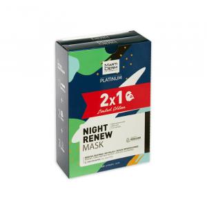 Martiderm Platinum Facial Night Renew Mask 2x5 Unità