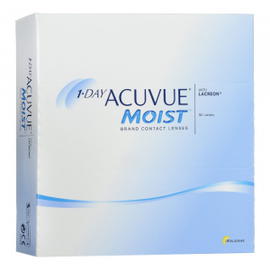 Acuvue Moist Contact Lenses 1 Day Replacement -3.00 BC/8.5 90 Unità
