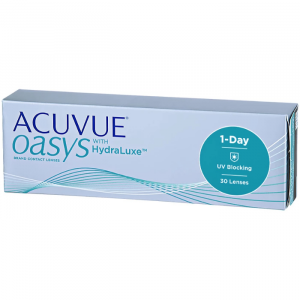 Acuvue Oasys Hydraluxe Contact Lenses 1 Day Replacement -5.00 BC/8.5 30 Unità