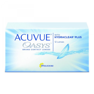 Acuvue Oasys Hydraclear Contact Lenses 2 Weeks Replacement -5.00 BC/8.4 12 Unità