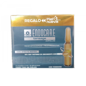 Endocare Tensage Fiale 20x2ml+Set NUova Pelle