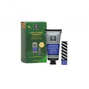 Apivita Hypericum Hand Cream Repair And Protection 50ml Set 2 Pieces