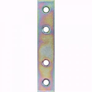 Friulsider piastra dritta 15x40 zincata gialla conf.50 pz art.80303d0004000