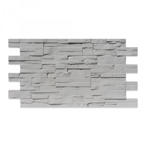 Modern Covered Stone Panel Grigio