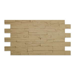 Modern Covered Stone Panel Tufo