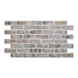 Modern Covered Brick Panel Shabby