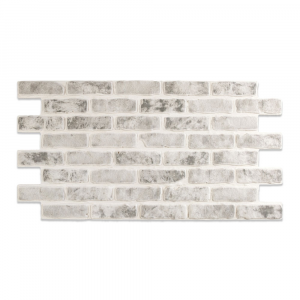 Modern Covered Brick Panel Monocrom