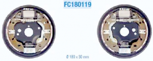 Kit completo ganasce freni posteriori Fiat 500 (312), Panda (169),