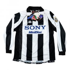1997-98 Juventus Maglia Home M/L  *Nuova