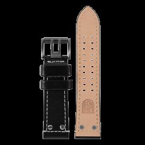 Cinturino Luminox in pelle nera - 26mm
