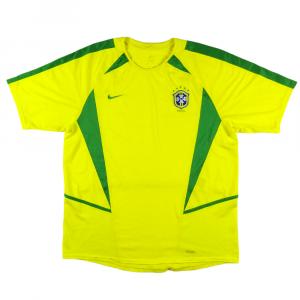 2002-04 Brasile Maglia Home M
