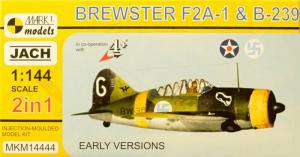 Brewster F2A-1 & B-239