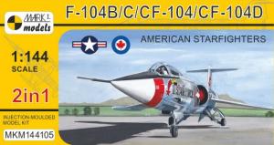 F-104B/C/CF-104/CF-104D