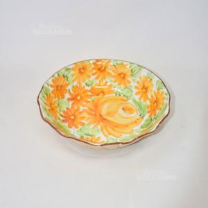 Insalatiera Giulianelli Ceramica Dipinta A Mano
