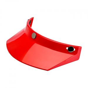 BILTWELL MOTO VISOR - RED