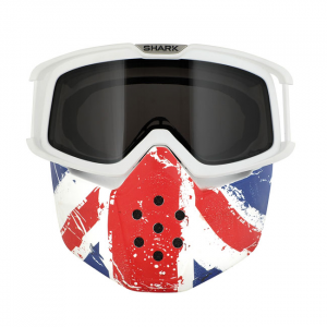 SHARK RAW MASK & GOGGLE KIT UNION JACK; UNISEX