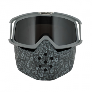 SHARK RAW MASK & GOGGLE KIT ALL OVER; UNISEX