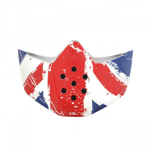 SHARK RAW MASK UNION JACK; UNISEX