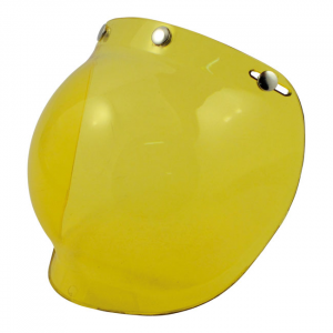 BANDIT BUBBLE VISOR, YELLOW