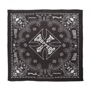 WCC HANDCRAFTED BANDANA BLACK ONE SIZE FITS MOST