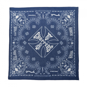WCC HANDCRAFTED BANDANA BLUE ONE SIZE FITS MOST