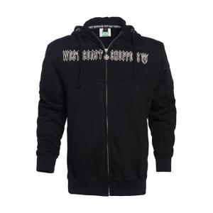 WCC CFL zip hoodie black Male; EU size 3XL