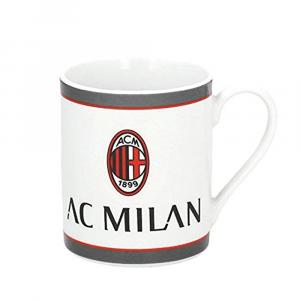 Tazza cilindrica bianca del MILAN in ceramica