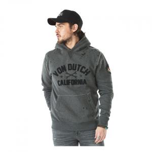 Von Dutch hoodie Owen anthracite; Size S