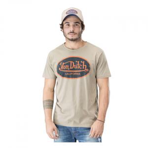 Von Dutch Aaron T-shirt kaki; EU size S
