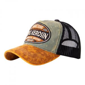 King Kerosin Hi Octane cap green/brown;