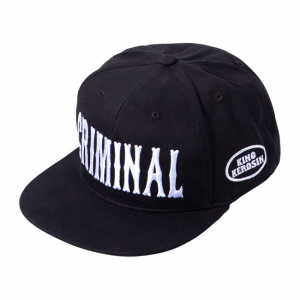 King Kerosin Criminal cap black;
