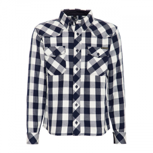 King Kerosin Faster & Louder shirt white/blue; MALE EU SIZE 2XL