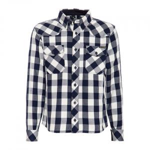 King Kerosin Faster & Louder shirt white/blue; MALE EU SIZE 3XL