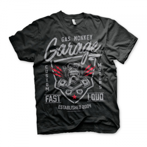 GMG - Fast 'n Loud t-shirt; Male EU size L