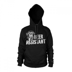 GMG Beer assistant hoodie; Male EU size S