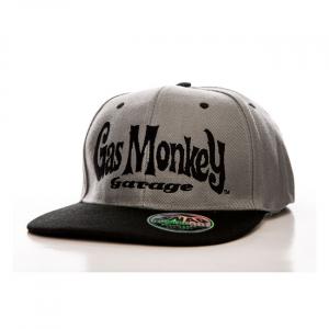 GMG Round logo snapback cap black/grey