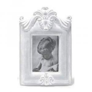 Cornice portafoto in resina effetto legno