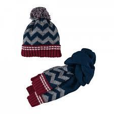 Set cappello+sciarpa maglia Mek