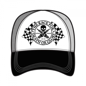 LETHAL THREAT, MEN'S TRUCKER HAT DEATH OR GLORY; One size fits most