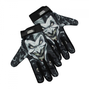 LETHAL THREAT Jester gloves black; Male size XL